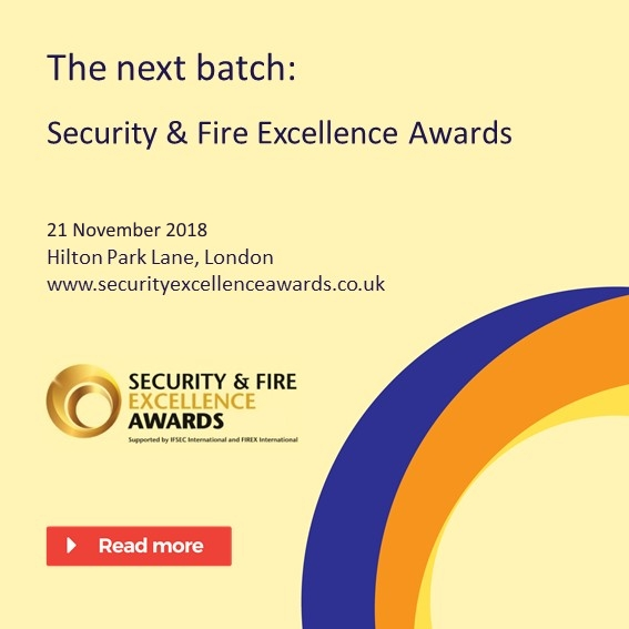 Security fire and excellence 2018