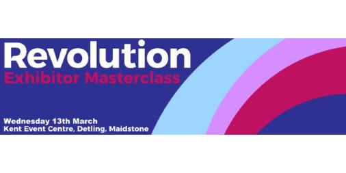 Revolution Exhibitor Masterclass Banner for twitter